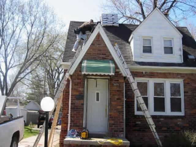 St. Clair Shores Roof repair before