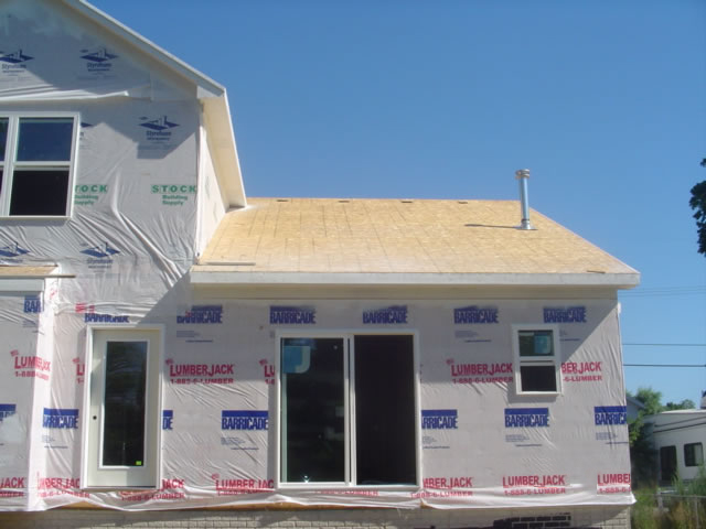 Michigan New construction roofing before