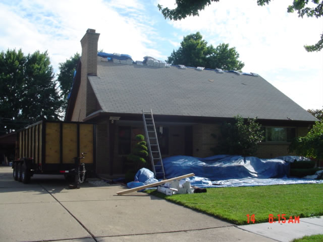 Utica Roof Repair After